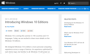 Introducing Windows 10 Editions-Windows Experience Blog